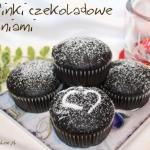 Muffinki czekoladowe z wi...