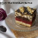 Straciatella truskawkowa