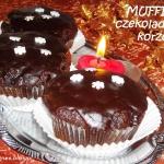 Muffinki czekoladowo - ko...