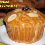 Muffinki z zurawina