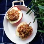 Pieczone jabłka w sosie...