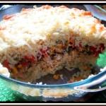 Ryżowa Zapiekanka Gyros