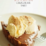 ICE CREAM CHOCOLATE TART