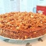 Wiedenski tort na waflach...