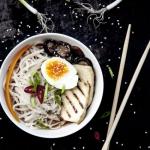 Ramen z grillowanym tofu