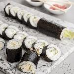 Pierwsze sushi jak...