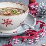 Zupa grzybowa swiateczna