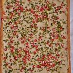 Mazurek chalwowy z pistac...