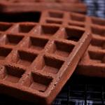 Gofry czekoladowe bezglut...
