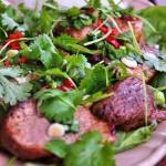 Imbirowa salatka z ryzem ...