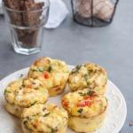 Muffiny wytrawne z jajek...