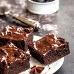 Piernikowe brownie ze...