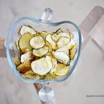 Chipsy z cukinii