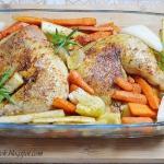 Kurczak w ziołach z...