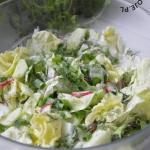 Salata maslowa z ogorkiem...