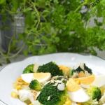 Salatka z brokula i jajka...