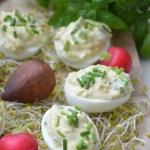 Jajka faszerowane awokado...