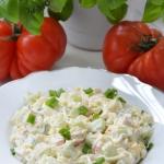 Salatka z surimi i jajkie...