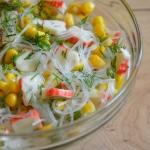 Salatka z surimi – krab...