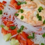 Salatka z krewetkami i ma...