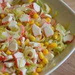 Salatka krabowa z kukuryd...