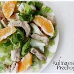 Salatka z indykiem i poma...