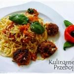 Spaghetti z soczystymi pu...