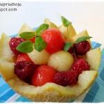 Salatka owocowa z melonem...