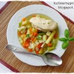 Zupa warzywna z brokulem ...