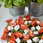 Salatka z fasolki szparag...