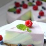 Ciasto zebra jogurtowa