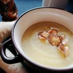 Zupa krem z gruszką