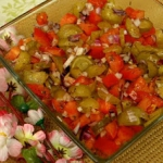 Salatka z ogorkami maloso...