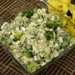 Salatka z brokulem i twar...