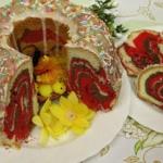 Kolorowa babka Wielkanocn...