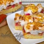 Ciasto z Rabarbarem pod...
