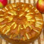 Ciasto z jabłkami –...