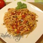 Spaghetti bez Miesa w Sos...