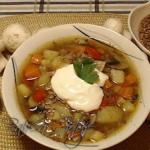 Zupa z Kaszą Gryczaną...