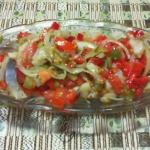Salatka Śledziowa z Pomi...