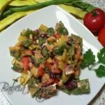 Pikantna Salatka z Fasolk...