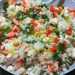 Salatka z Ryzem i Serem F...