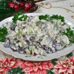 Salatka Śledziowa z Czer...
