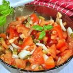 Surówka z pomidorów i...
