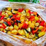 Kurczak z warzywami w...