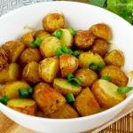 Młode ziemniaki...