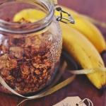 granola bananowo-kokosowa