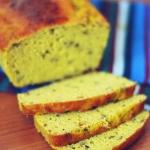 kukurydziany chleb na...