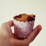 muffinki z malinami...