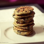 jagodowe pancakes.